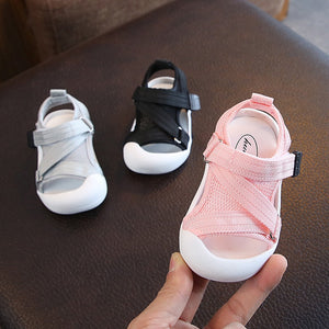 2019 Summer Infant Toddler Shoes Baby Girls Boys Toddler Shoes Non-Slip Breathable High Quality Kids