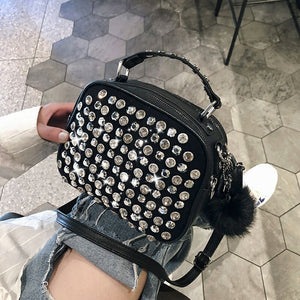women luxury leather handbag famous designer ladies shoulder hand bag 2019 new girl clutch diamond crossbody bag sac main femme