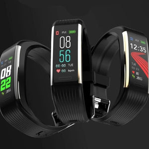 Smart Band Blood Pressure Measurement Pedometer Fitness Tracker Watch Smart Bracelet Women Men