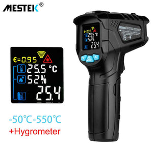 MESTEK IR01 digital thermometer humidity meter infrared thermometer hygrometer temperature meter