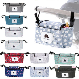 Multifunctional Mummy Diaper Nappy Bag Baby Stroller Bag Travel Backpack Designer Nursing Bag for