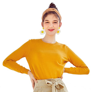 SEMIR 2019 Cashmere Knitted Sweater Women Pullovers Turtleneck Autumn Winter Basic Women Sweaters