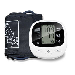 Automatic Digital Upper Arm Blood Pressure Monitor Heart Beat Rate Pulse Meter Tonometer