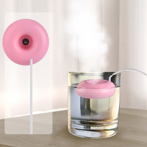 Mini Portable Donuts USB Air Humidifier Purifier Aroma Diffuser Steam safe use For Home Atomizer Aromatherapy