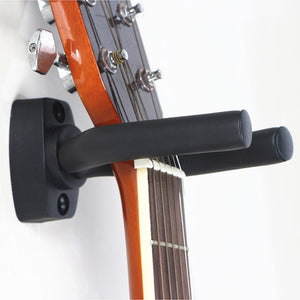 1 Piece Guitar Bass Mandolin Banjo Ukulele Stand Wall Mount Hanger Holder Guitar Hanger