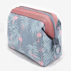 Women Travel Animal Flamingo Make Up Bags Girl Cosmetic Bag Makeup Beauty Wash Organizer Toiletry