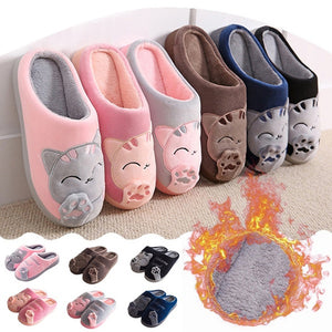 Cute Non-slip Winter Animal Women Slippers Home Female Comfort Floor Women Shoes Cotton Ladies