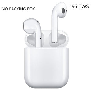 i9s Tws Headphone Wireless Bluetooth 5.0 Earphone Mini Earbuds With Mic Charging Box