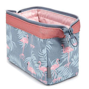 Travel Animal Flamingo Make Up Bags Women Girl Cosmetic Bag Makeup Beauty Wash Organizer Toiletry