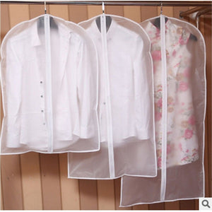 Hot Clothes Hanging Garment Dress Clothes Suit Coat Dust Cover Home Storage Bag Pouch Case Organizer