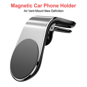 Hot Sale Metal Magnetic Car Phone Holder for OnePlus 7 Mobile Phone Car Air Vent Magnet Mount