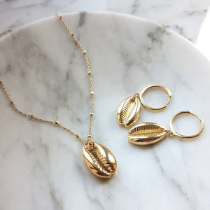 Artilady shell choker necklace gold chain necklace Cowrie boho jewelry for women party gift drop