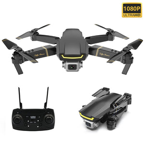 Global GW89 RC Drone with 1080P Camera HD Wifi FPV Gesture Photo Video Altitude Hold Foldable RC Quadcopter for Beginner VS E58