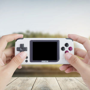 Video Game Console -PocketGO - Portable Handheld Retro Game Players Progress Save/Load MicroSD