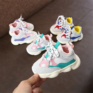 Autumn Baby Girl Boy Toddler Shoes Infant Casual Running Shoes Soft Bottom Comfortable Stitching