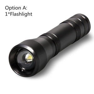 LED UV Flashlight Ultraviolet Torch 5Mode Mini UV Light Zoomable Function 395nm Ultra Violet Light