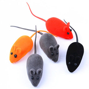 1PCS Multicolor Creative Funny False Mouse Pet Cat Toys Mini Funny Playing Toys for Cats Kitten