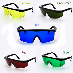 5 Colors Safety Glasses Welding Goggles Sunglasses Green Yellow Eye Protection Working Welder Adjustable Safety Articles