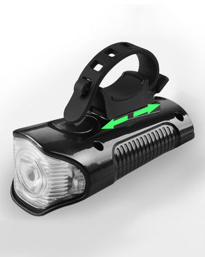 Waterproof Bicycle Light USB Charging Bike Front Light Flashlight Handlebar Cycling Head Light w/