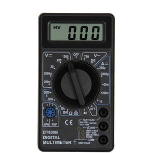 Urijk DT830B AC/DC LCD Digital Multimeter 750/1000V Voltmeter Ammeter Ohm Tester High Safety