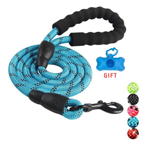 Durable Nylon Dog harness Color 1.5M Pet Dog Leash Walking Training Leash Cats Dogs Leashes Strap