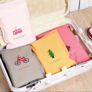 Fashion Travel Storage Bags Zipper Organizer Bag For Clothing Underwear Socks Shoes Storage Bag