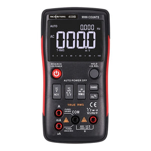 RM409B/RM408B True-RMS Digital Multimeter Button 9999/8000 Counts With Analog Bar Graph AC/DC