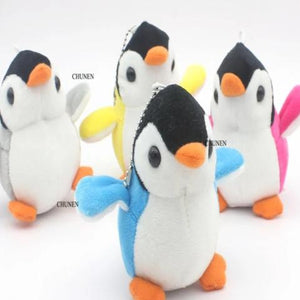 4Colors, NEW The Penguin 8CM Plush Stuffed TOY DOLL ; Wedding Bouquet TOY DOLL