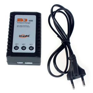 IMAX B3AC Compact Charger Pro Lipo Battery Adapter 2S 3S 7.4V 11.1V Professional Balance Charger + EU US UK AU Power Supply
