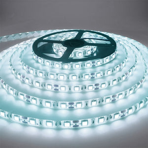 5M 300 LED Strip Light Non Waterproof DC12V Ribbon Tape Brighter SMD3528 Cold White/Warm White/Ice