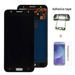 For Samsung GALAXY J5 J500 J500F J500FN J500M J500H 2015 LCD Display With Touch Screen Digitizer Assembly Adjust Brightness