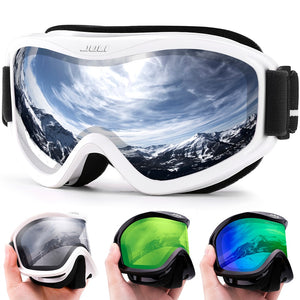 MAXJULI brand professional ski goggles double layers lens anti-fog UV400 ski glasses skiing snowboard men women snow goggles