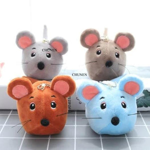 Mini Cute 4-9CM Approx. , Lovely Mini Mouse Toys , Colors choice , Stuffed Plush Animal Toy , key chain Dolls