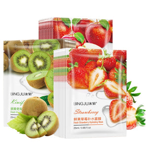 Moisturizing Firming Face Mask Sheet Masks Oil Control Anti-Aging Natural Essence Whitening Facial Mask Plant Skin Care