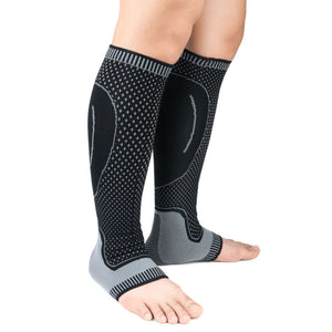 Mens Womens Compression Socks Casual Running Medical Sports Calf Support Elastic Stress Socks 4
