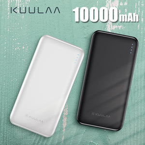 KUULAA Power Bank 10000 mAh PowerBank Portable Charging Poverbank 10000mAh USB External Battery