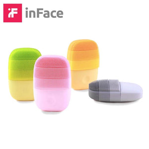 inFace Smart Sonic Clean Electric Deep Facial Cleaning Massage Brush Wash Face Care Cleaner