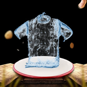 Hydrophobic Anti-fouling T-shirts Men Waterproof Anti-pollution Quick Dry Tee Shirts New Men's Short-sleeved Jogger Sport shirts