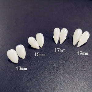 4 size Vampire Teeth Fangs Dentures Props Halloween Costume Props Party Favors Holiday DIY