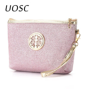 UOSC New Women Cosmetic Bag Travel Make Up Bags Fashion Ladies Makeup Pouch Neceser Toiletry
