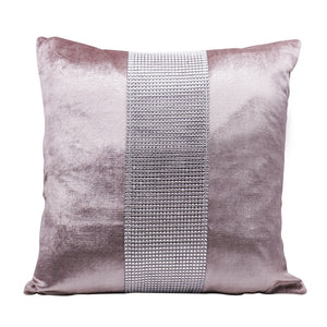 Decorative Pillow Case Flannel Diamond Patckwork Modern Simple Throw Cover Pillowcase Party Hotel