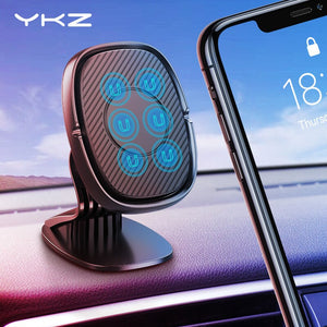 YKZ Magnetic Car Holder For iphone Samsung Mobile Phone Holder Stand Car Air Vent Magnet Mount GPS