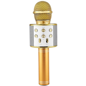 Wireless Karaoke Microphone Portable Bluetooth mini home KTV for Music Playing and Singing Speaker