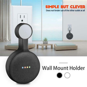 Outlet Wall Mount Stand Hanger Holder For Google Home Mini Voice Assistant Smart Home Home