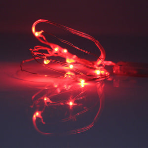 2M 20LEDs Copper Wire LED String light Holiday lighting Fairy Garland For Christmas Tree New Year