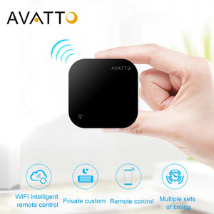 AVATTO S06 Mini Smart Home Automation 2.4GHz WIFI IR Remote with Alexa,Google home Voice Intelligent