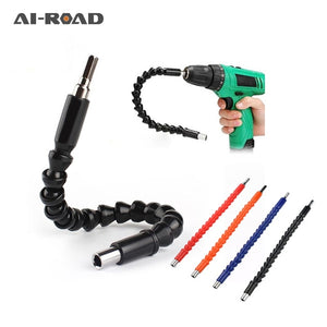295mm Flexible Shaft Hex Flex Electric Drill Universal shaft Extention Screwdriver Bit Holder