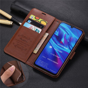 For Huawei Honor 10i 6.21'' Case Fashion Flip PU Leather Stand Case For For Honor 8S 8X Book Style