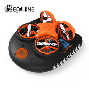 Eachine E016F 3-in-1 EPP Flying Air Boat Land Driving Mode Detachable One Key Return RC Quadcopter