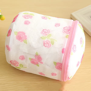 1 PC Floral Color Clothes Washing Machine Laundry Bags Washing Hosiery Saver Protect Women Bra